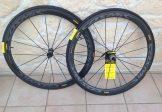 DESTOCKAGE paire de roues Mavic Cosmic Pro Carbone sl 40 boyaux
